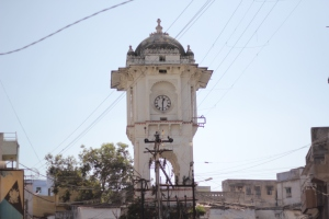 The city clock