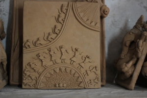 Terracotta pottery  - Warli Tribal