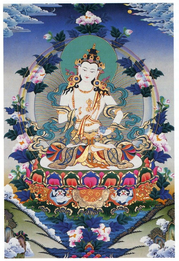 Vajra Thangka painting